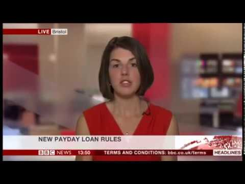 Hannah chats to BBC News about the new payday loan regulations that have come into force today.