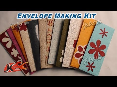 HOW TO: DIY Shagun envelope Kit for gifting in wedding, trousseau and baby shower - JK Arts 306