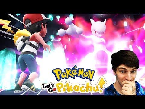NEW POKEMON GAMES! REACTION to Pokemon Let's Go Pikachu