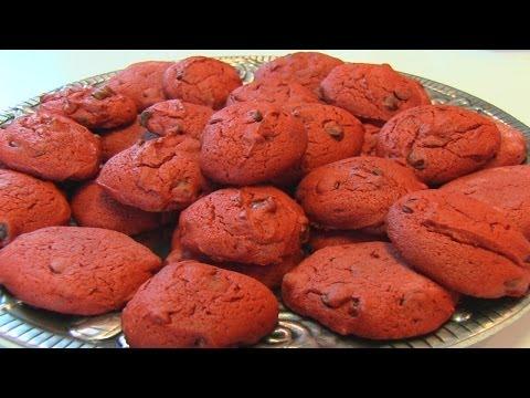 Betty's Red Velvet Chocolate Chip Cookies