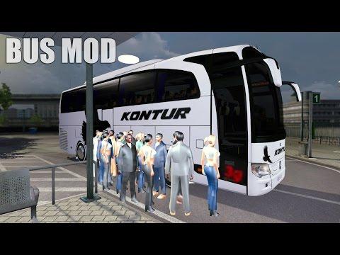 euro truck simulator setra bus travego
