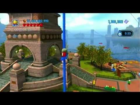 Lego City Undercover - 100% Lady Liberty Island