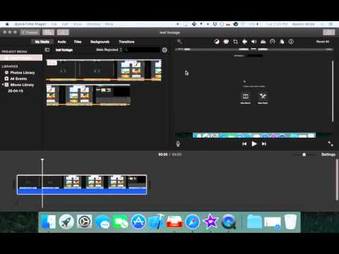 Avoid iMovie cut off top and bottom of video