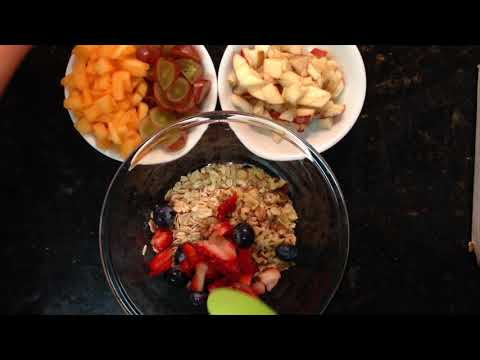 How to make the fastest, healthiest and tasty breakfast! It will take 5 min or less!