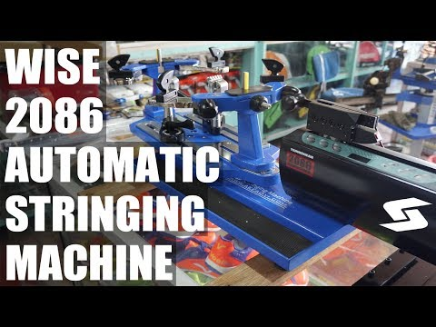 WISE Tennis Head 2086 Tensioner Unboxing and Installation