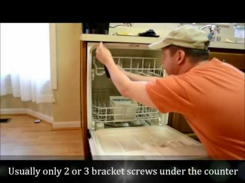How To Remove & Replace A Dishwasher, Part I, Removal