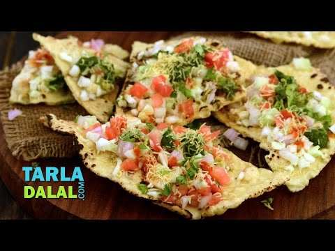 Masala Khichiya Papad ( Mumbai Roadside Recipes ) by Tarla Dalal