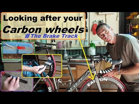 Looking after your carbon wheels - Scratches