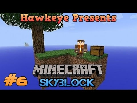 Minecraft (1.10) SKYBLOCK - Ep. #6 - Mob Spawners & Nether Portals!