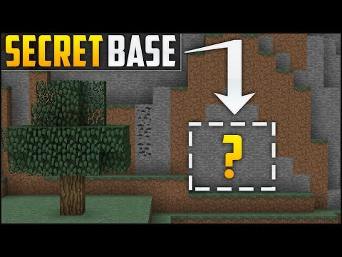 Minecraft: How To Build A Secret Base Tutorial (#2)