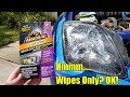 Armor All Restoration Headlight Wipes Test and Review on my Honda Prelude.