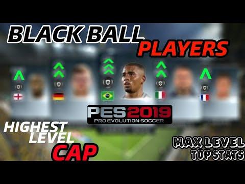 Black Ball Players with Max Level Cap   PES 2019 - PakVim