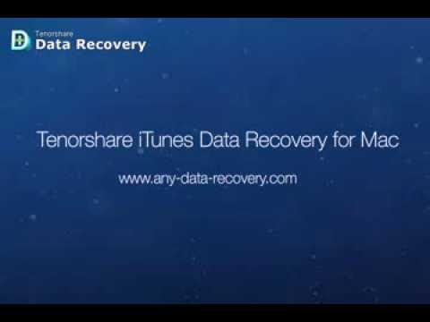 Tenorshare iTunes Data Recovery for Mac - Extract Photos, Contacts, Notes, SMS from iTunes Backup