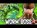THE WORM BOSS!! - PORTAL KNIGHTS! #4 W/AshDubh |Gameplay|