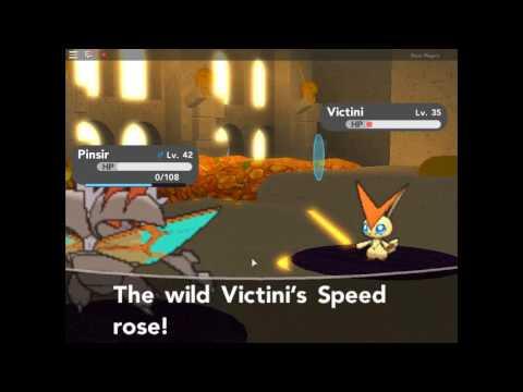 I CATCH VICTINI WITH A POKEBALL!!!?!??? (part 2) Pokemon Brick BRONZE