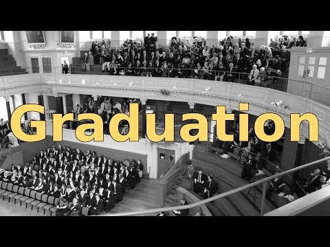 Graduating from the University of Oxford