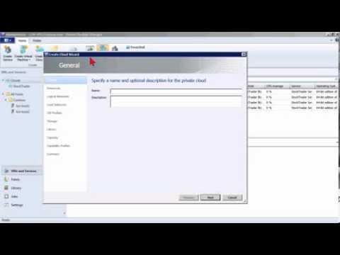Microsoft System Center Private Cloud 2012 Tutorial: Creating a Simple Private Cloud | K Alliance