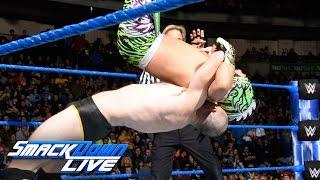 Kalisto vs. Oney Lorcan: SmackDown LIVE, Nov. 15, 2016