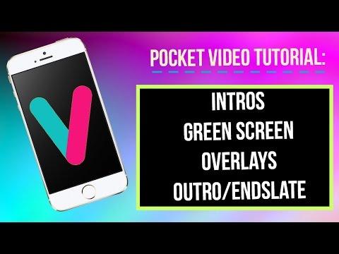 Pocket Video: Green Screen, Overlay, Intro/Outro | Alyiah Savoy