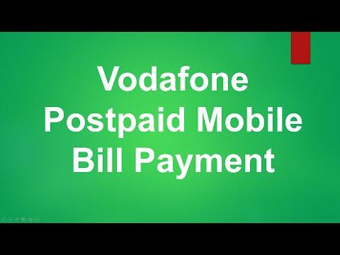 Vodafone Postpaid Mobile Bill Payment
