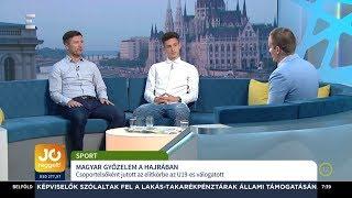 U19-es labdarúgó válogatott - Németh Antal, Szendrei Norbert - ECHO TV