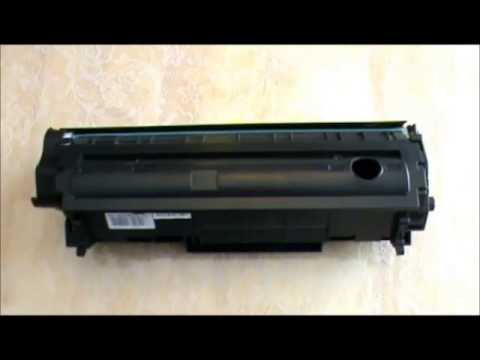 How to refill Canon toner cartridge