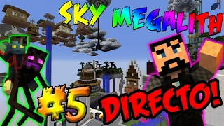 #ViernesDeMinecraft EN DIRECTO!! | Sky Megalith con Viciosin #5