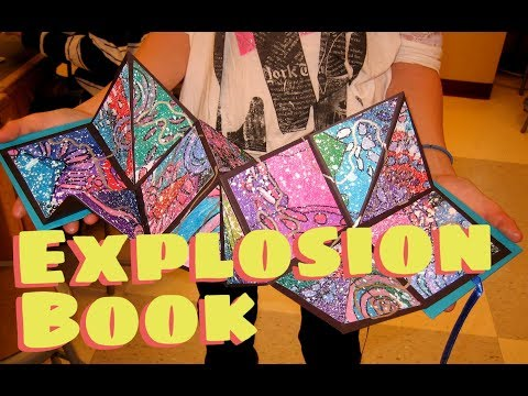 How to make an Explosion Book/Squash Book