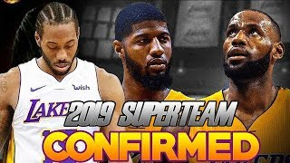 LAKERS TRADING FOR KAWHI TO MAKE 2018 SUPERTEAM WITH LEBRON JAMES AND PAUL GEORGE? How Realistic ?