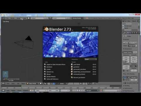 Blender For Noobs - Learn Blender in an hour! Fast track to Blender