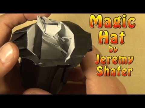 Origami Magic Hat (Rabbit in a Hat) by Jeremy Shafer