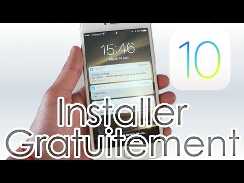 Télécharger et Installer iOS 10 Gratuitement sur iPhone, iPod touch et iPad !