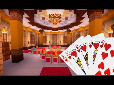 Minecraft : How To Make a Poker Table