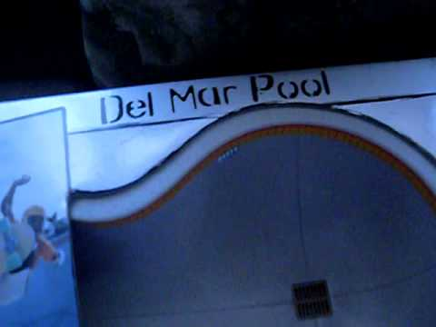 Unboxing the del mar pool for tech deck