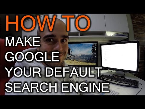 How to make Google Your Default Search Engine in Chrome