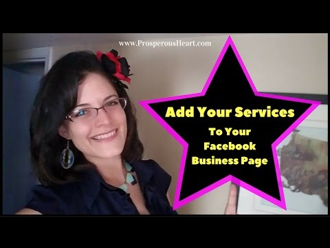 How To Add Services To Facebook Business Page