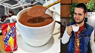 CHOCOLATE QUENTE SUPER CREMOSO DE NESCAU | FÁCIL E RÁPIDO