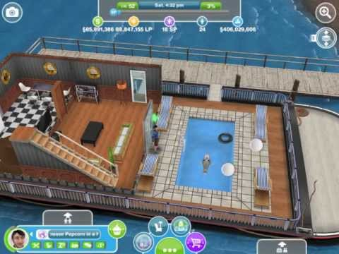 Sims Freeplay House Boats First Look Mystery Island August 30 2013