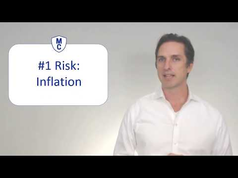 Risks with annuities