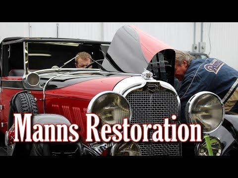 Manns Restoration - Award Winning Automotive Restoration