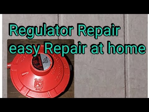 How to Gas Regulator Repair at Home.