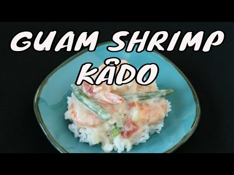 Shrimp Kado or shrimp with coconut milk