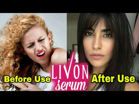 livon serum smooth and silky hair review in hindi