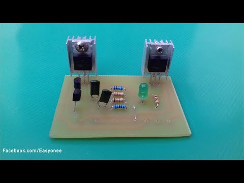 How to make inverter 12V To 220V | inverter circuit