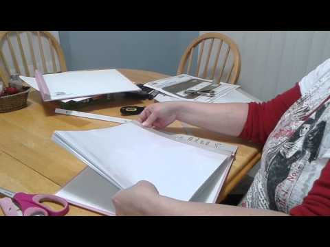 Post bound scrapbook assembly instructions