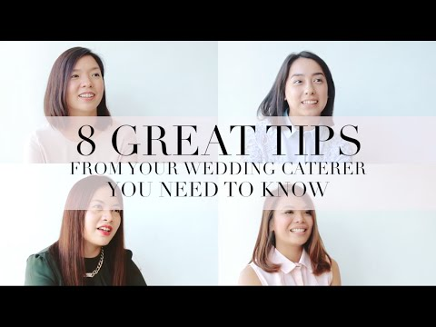 8 Great Tips From Your Wedding Caterers You Need To Know