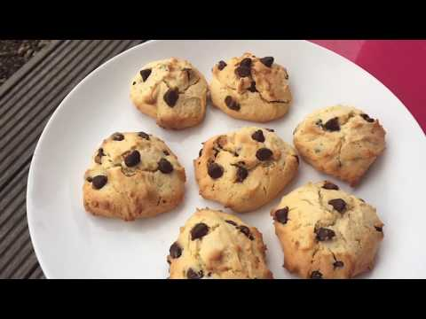 Choco Chip Cookies | Easy Chocolate Chip Cookies Recipe | How to Bake Cookies at Home