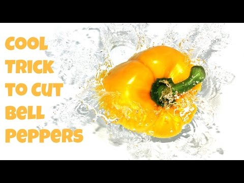 How to Cut Bell Peppers Easily and Quickly