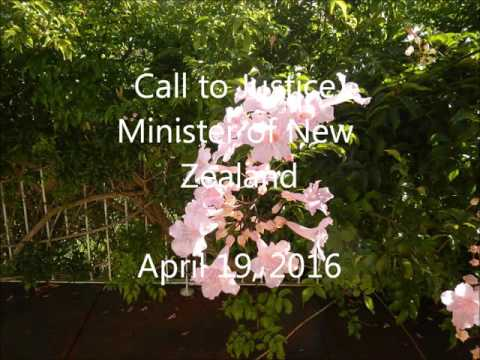 Call to Justice Minister of New Zealand
