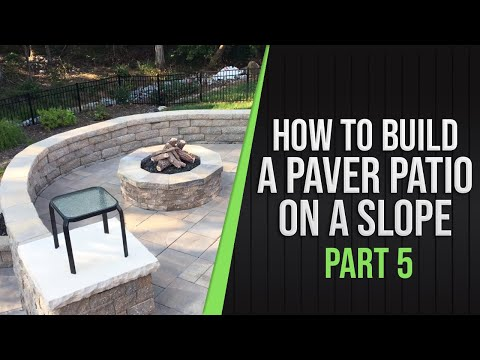 Part 5 - How To Build a Paver Patio on a Slope, 1yr later